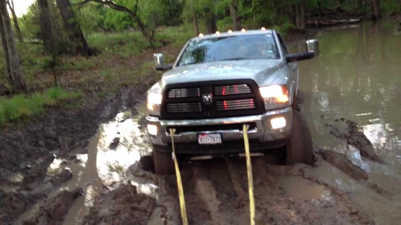 2012 Cummins Stuck In Mud 8 Quot Bds Lift Youtube
