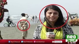 Funny Indian TV Reporter bloopers