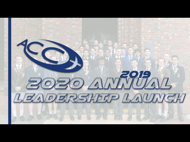 ACC 2020 Annual Leadership Launch 2019