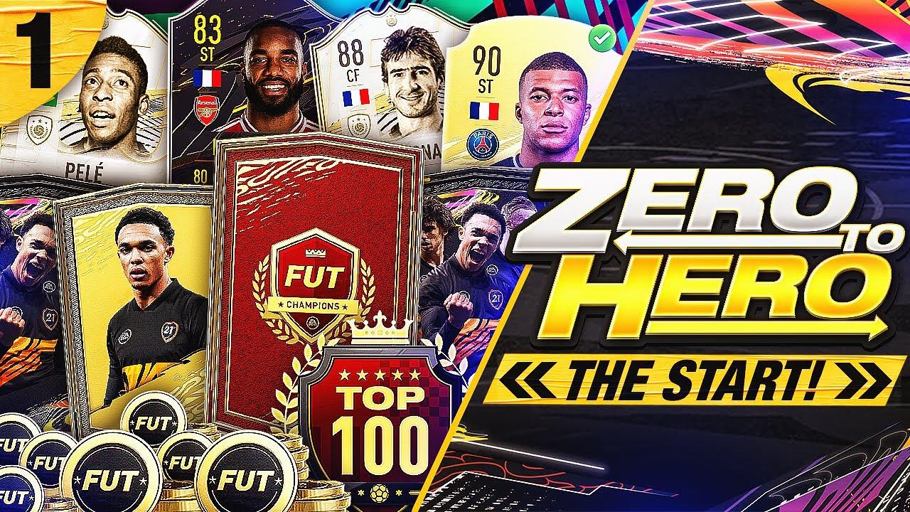 FIFA 21 Zero to Hero - The Start!