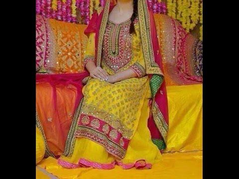 Latest Mehndi Dresses 2017 Indian Amp Pakistani Bridal