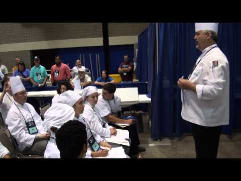 SkillsUSA Culinary Arts Post Secondary Orientation 2014