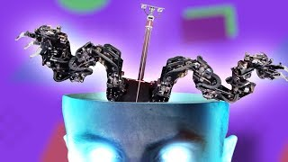 Giant Robot, Electronic Skin and more -- Mind Blow #117