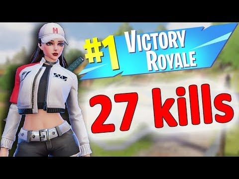 27 Kills solo win - Creative Destruction season 7