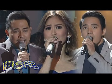 Erik, Jed & Sarah sing 'Hanggang' on ASAP