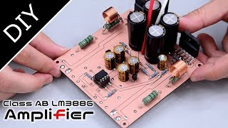 【DIY Amplifier 】自作スピーカーアンプを製作したので中華アンプ比較してみた Making an Audio Amplifier @ LM3886