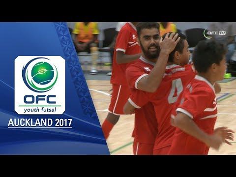 VANUATU v NEW CALEDONIA | Men's Highlights - OFC YOUTH FUTSAL TOURNAMENT