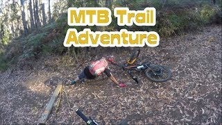 Trail adventure with the MTB in Devonport | MTBTravelGirl