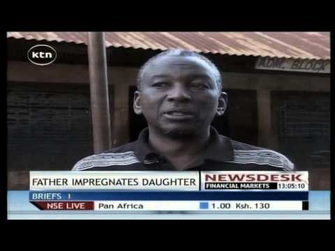 A 62 year old father has confessed having impregnated his daughter in Muranga County