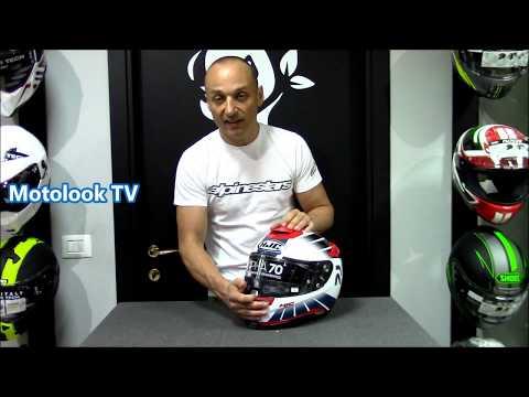 90cc6b4b Recensione casco HJC RPHA 70 Motolook Voghera - YouTube