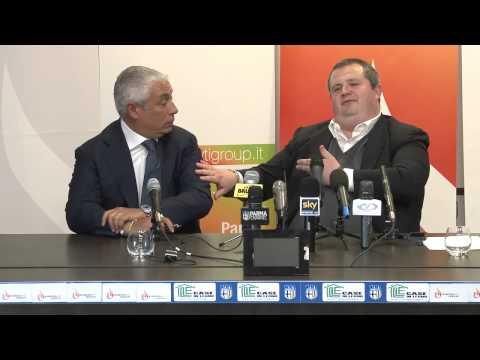 Energy T I  Group e Parma insieme per un club più forte   la conferenza stampa a Collecchio