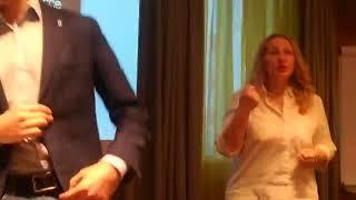 Смотреть видео Бизнес-тренинг Constellation Luck. Москва 10.02.18г. Часть 2 онлайн