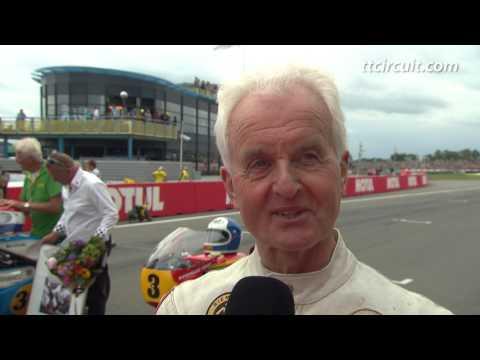 Honour lap: Wil Hartog