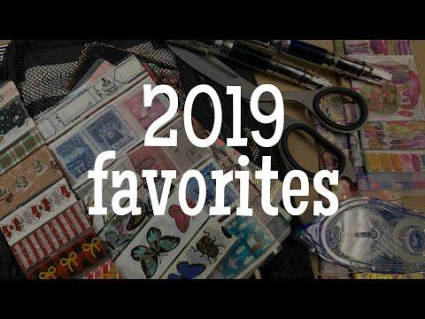 2019 Journaling And Planning Favorites