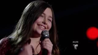 Chloe impacta con su interpretación de 'María Bonita' | Audiciones | La Voz Kids 2016