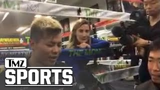 Tenshin Thinks He'll Fair Well Against Floyd Compared to Conor McGregor | TMZ Sports
