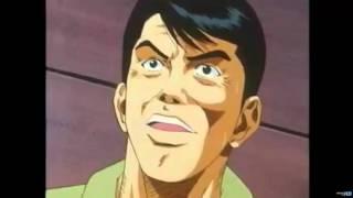 hanamichi derrota(bloquea) a Sendoh, Fukuda y Uozumi