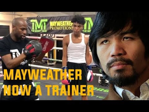 Floyd MAYWEATHER Jr  becoming boxing Trainer don't want REMATCH with Manny PACQUIAO