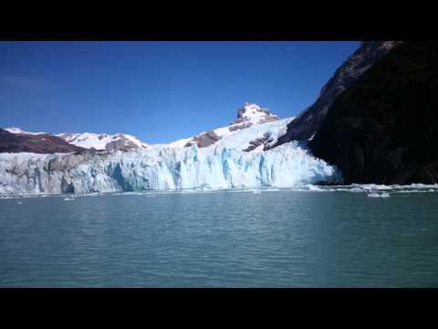 4k El Calafate. Argentina. Glaciar Spegazzini