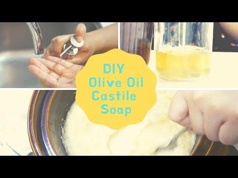How I Make Castile Liquid Soap (100% Olive Oil)