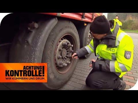 Fahrzeugrahmen gebrochen: LKW knnte in zwei Hlften brechen! | Achtung Kontrolle | kabel eins