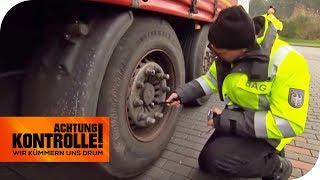 Fahrzeugrahmen gebrochen: LKW könnte in zwei Hälften brechen! | Achtung Kontrolle | kabel eins