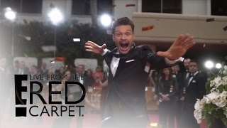 Ryan Seacrest Celebrates 10 Years on E!'s Red Carpet | Live from the Red Carpet | E! News Video