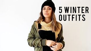 5 Canadian Winter Looks | Collab with Sarah Dunk