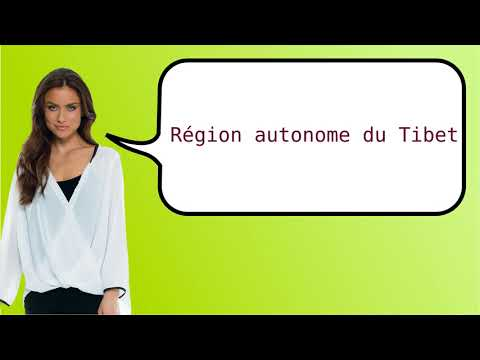 How to say 'Tibet Autonomous Region' in French?