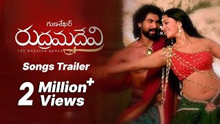 Rudhramadevi Songs Trailer - Auna Neevena Song - Anushka, Allu Arjun, Daggubati Rana