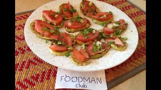 Кабачки с помидором и чесноком: рецепт от Foodman.club