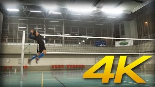 HITTING LINES 1 | 3rd meter spikes | amateur VOLLEYBALL practice