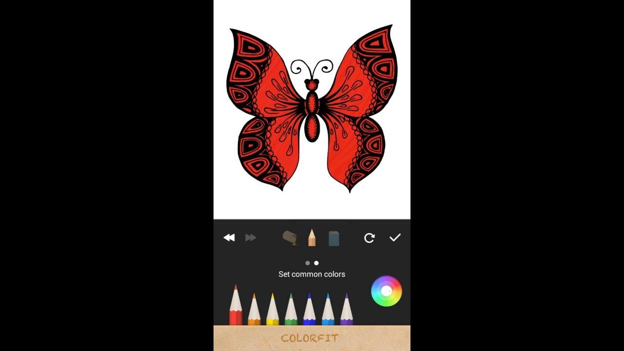 Colorfit Coloring App
