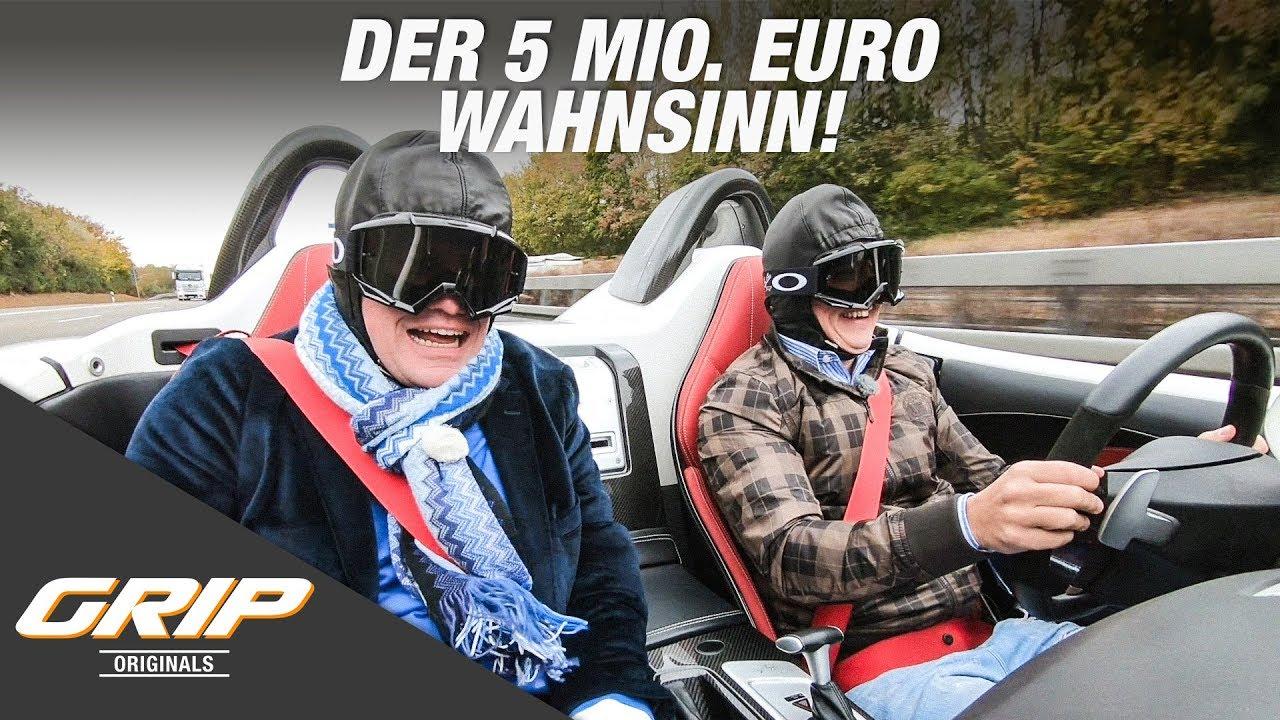 Traumgarage - Der 5 Mio. Euro Wahnsinn | GRIP Originals