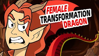 Female Transformation Into Animal - The Girl Was the Dragon Queen of Shapeshifters.
