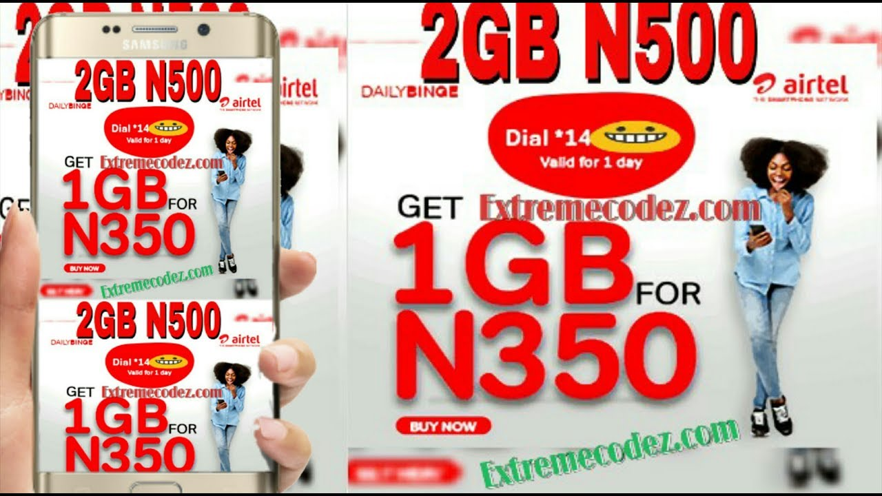 How To Activate Airtel Binge Data Plan 2GB For N500 And 1GB