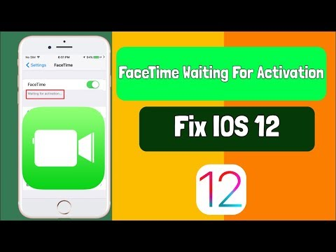 How To Fix FaceTime Waiting For Activation IOS 12