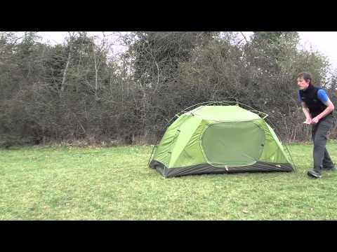 & How to pitch a The North Face Minibus 2 tent - YouTube