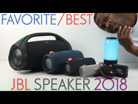 My Favorite/Best JBL Portable Bluetooth Speaker 2018 -The One I Used The MosT Of All!