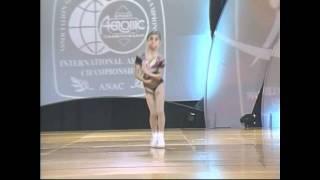 Youth International Aerobic Championship 2010 - Nicole Kaloyanov