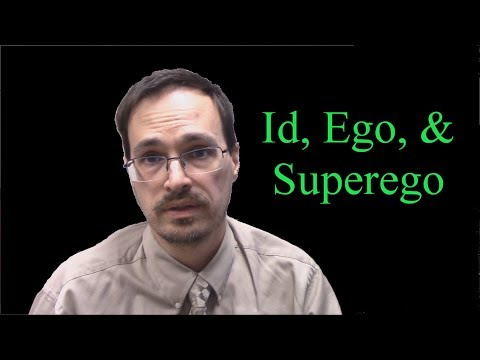 an overview of the id ego and super ego