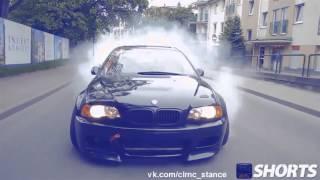 Bmw E46 M3 Crazy Street Drift [HD] BMW 3 красиво валит боком | DRIFT | Дрифт | STANCE NATION