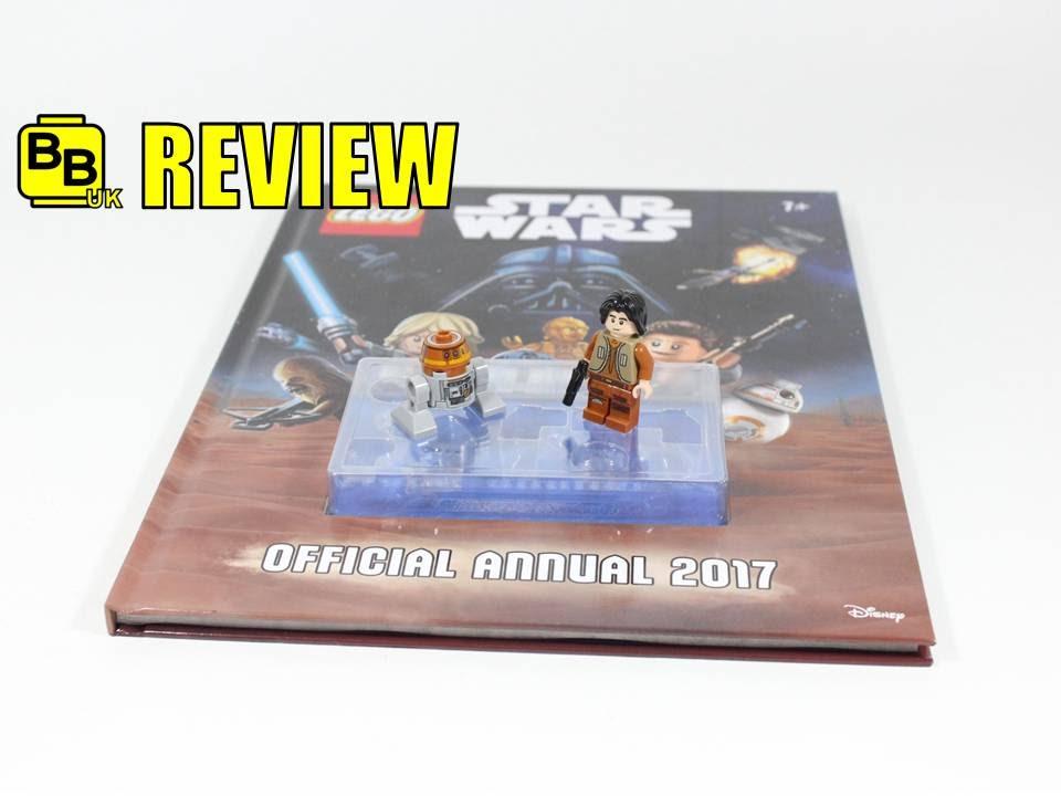 LEGO STAR WARS OFFICIAL 2017 ANNUAL BOOK EZRA & CHOPPER MINIFIGURE ...