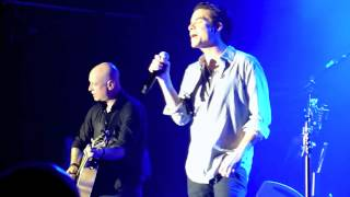 Train  [HD] - Marry Me - Wedding Proposal On Stage Mid-song