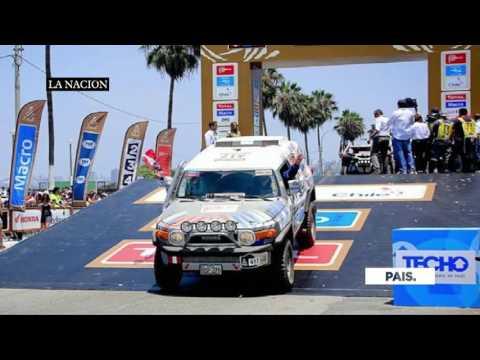 El Dakar ya se siente en Asunción
