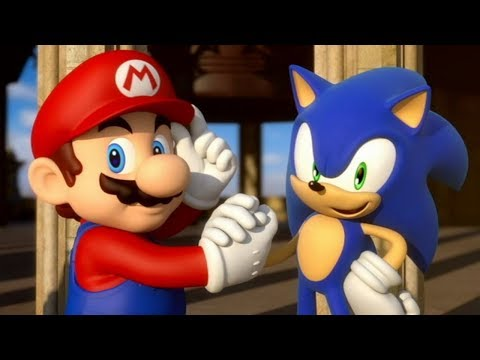 Mario & Sonic at the London 2012 Olympic Games - London Party (Sonic)