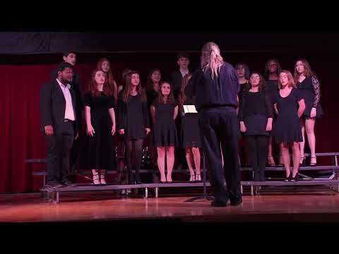 WGHS Chamber Singers, Blow, Blow, Thou Winter Wind, John Rutter