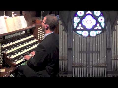 "FSPC - 17 Nov 2013 - Offertory   ""Ubi Caritas"" (9th Century Latin) - SBS Camera; R Staroscik, Organ"