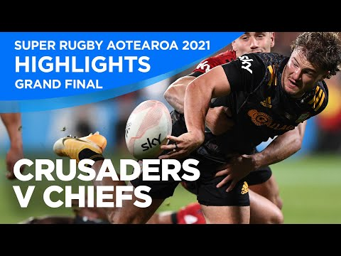 Crusaders v Chiefs Highlights | Grand Final 2021 | Super Rugby Aotearoa