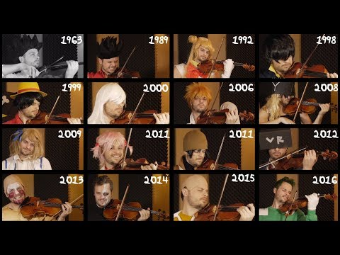 The Evolution of Anime Music (31 Openings) | 1963-2016